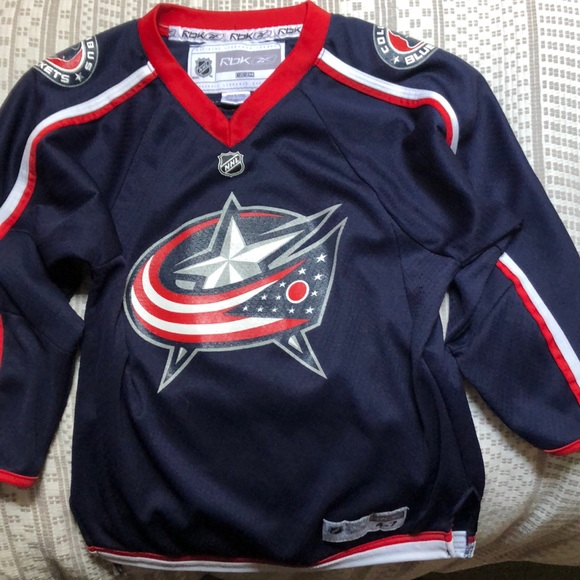 separation shoes 26e87 af923 NHL Columbus Blue Jackets youth jersey